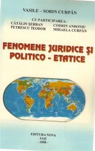 Fenomene juridice si politico - etatice