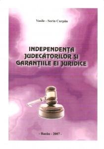 Independenta judecatoriilor si garantiile ei juridice