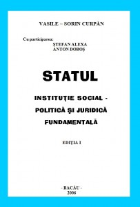 Statul institutie Social - Politica si Juridica Fundamentala