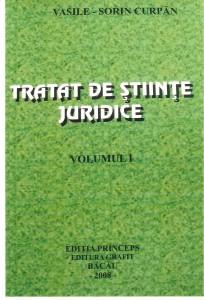 Tratat de stiinte juridice vol.1 - Editia Princeps