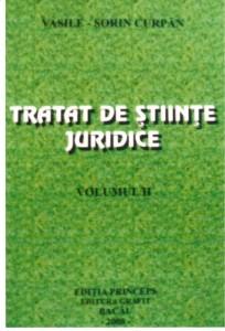 Tratat de stiinte juridice vol.2 - Editia Princeps